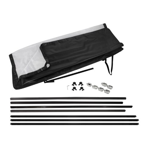 Pilot Automotive TNS-4002 Soft Tonneau Cover for 6.5' Short Bed Nissan Titan King Cab