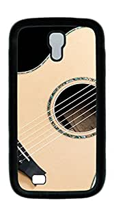 TUTU158600 Plastic Phone Case Back Cover case for samsung galaxy s4 for girls - 4 different colors Guitar