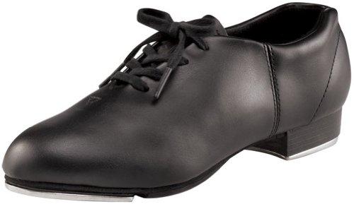 Capezio CG17- Zapato Oxford con tacón bajo, zapatos de claqué Negro - negro