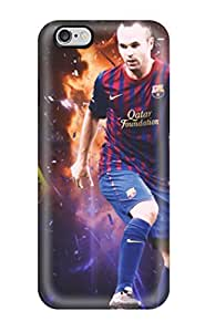 Iphone Case - Tpu Case Protective For Iphone 6 Plus- Andres Iniesta
