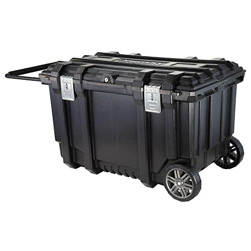 Black Mobile Tool Box - Husky 209261 37 in. Mobile Job Box Utility Cart Black