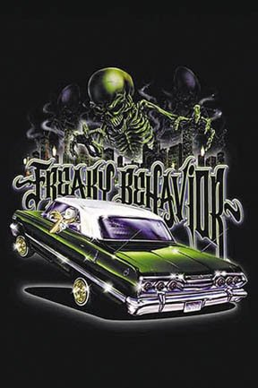 Freaky Behavior Lowrider Poster Print