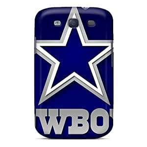 KimberleyBoyes Samsung Galaxy S3 Shock-Absorbing Cell-phone Hard Cover Unique Design Fashion Dallas Cowboys Pictures [Syg20327gxwO]