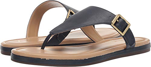Aerosoles A2 Women's Drop Down Flip-Flop, Navy, 9.5 M US