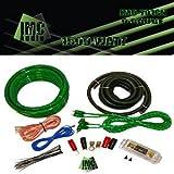 IMC Audio 0 Gauge Amp Kit - Green - 2000 Watts