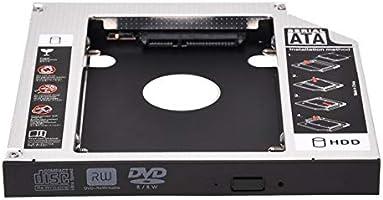 Cikuso - Bandeja para Disco Duro SATA de 2ª HDD HD, Universal ...