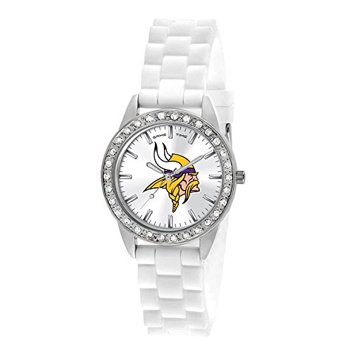 Gifts Watches Ladies NFL Minnesota Vikings Frost Watch ()