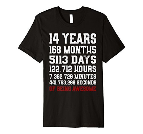 Costume Ideas For 14 Year Olds (14 Years old of Being Awesome Shirt Teen 14th Birthday)