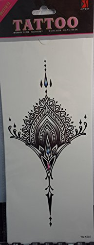 GGSELL Temporary tattoos for women's chest Jewelry design