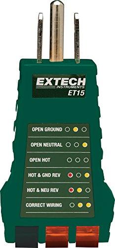 Extech ET15 Receptacle Tester