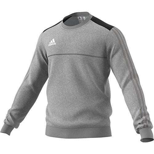 Homme Adidas white Sweat Hoody Mgreyh Tiro17 black qqn1BStA