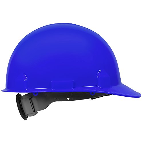 Jackson Safety SC-6 Hard Hat (14838), 4-Point Ratchet Suspension, Smooth Dome, Meets ANSI, Blue, 12 / Case by Jackson Safety (Image #2)