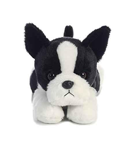 Amazon Com Aurora World Flopsie Boston Terrier 12 Na Toys Games