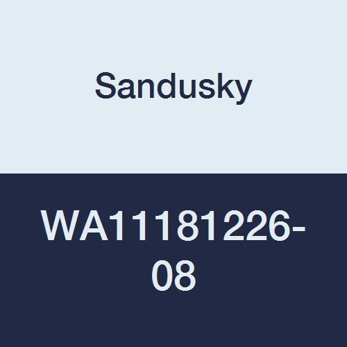 Sandusky Lee WA11181226-08 Clear View Wall Cabinet, 18''W x 12''D x 26''H, Forest Green