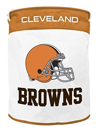 Cleveland Browns NFL Folding Laundry Basket NEW Duckhouse - Rookie Brown Nfl Football