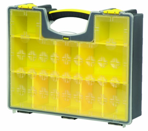 076174942033 - Stanley Consumer Storage 014708R 10-Compartment Deep Professional Organizer carousel main 1