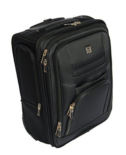 Ful Hybrid Wheeled 17-Inch Duffel Bag - Matte Black