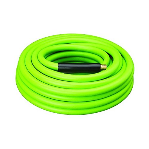 Amflo 577-50A Green 300 PSI Rubber//PVC Air Hose 3//8 x 50 With 1//4 MNPT End Fittings And Bend Restrictors 516-50A
