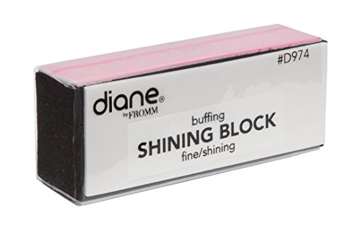 Diane 4 in 1 Shining Block (Fine / Shining D974) - 50 pieces, Fine / Shining, Shining Block, 4 in 1 Shining Block, Pedicure, manicure, sanding, nail buffer, nail shine, shiner, shining, nail art, buffer, buffering, grinding, gently grind, cosmetics, salon, personal use, professional use, acrylic