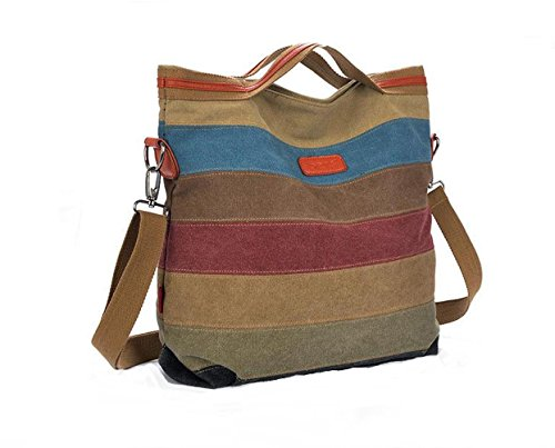 Patchwork Bag (Generic NEW Patchwork Women Big Handbag Cotton Canvas Bags Shoulder Messenger Bag)