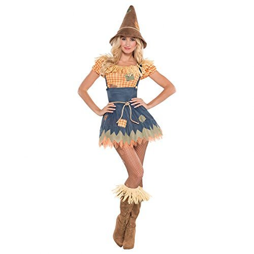 Amscan International Adults Sultry Scarecrow Costume