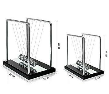 Newton Wiege Kugelspiel Kugelstoßpendel Stahl Kugelpendel Pendel Physik CH