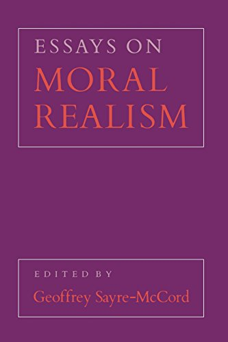 Essays on Moral Realism (Cornell Paperbacks)