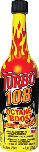 Blue Magic NA30-12PK Turbo 108 Octane Boost - 16 fl. oz, (Pack of 12)