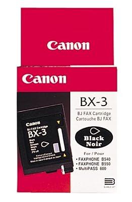 Canon BX-3 Twin Pack InkJet Cartridge (H11-6371-TPK)