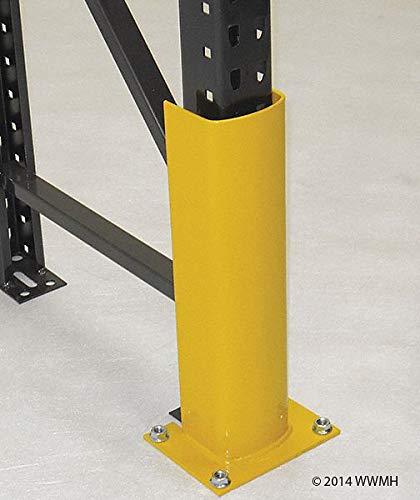 7-3/4''W x 24-1/4''H Steel Pallet Rack Guard