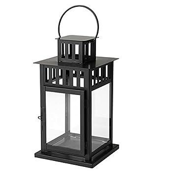 IKEA - BORRBY Lantern black