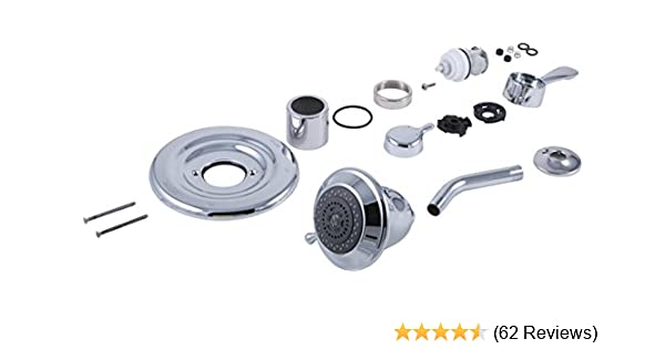 Delta RP29405 Polished Chrome Conversion Kit for Shower Heads 1700 Series