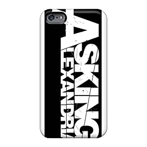 Tpu Fashionable Design Asking Alexandria Band Rugged Case Cover For Iphone 6 New
