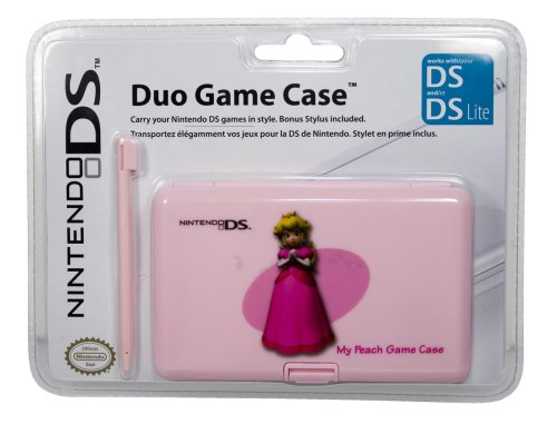 Pdp Duo Game Case - Princess Peach (nintendo Ds)