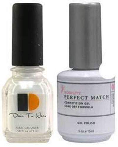 - LECHAT Perfect Match Nail Polish, Flawless White, 0.500 Ounce