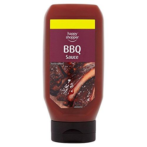 Comprador feliz salsa de barbacoa 450g (paquete de 8 x 450g)