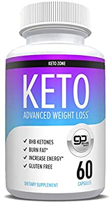 Weight Loss Pills - Keto Pills for Women & Men - Keto Diet Pills That Work - Ketosis Fat Burner for Men and Women - Boost Energy - Electrolyte Supplement - 60 Caps