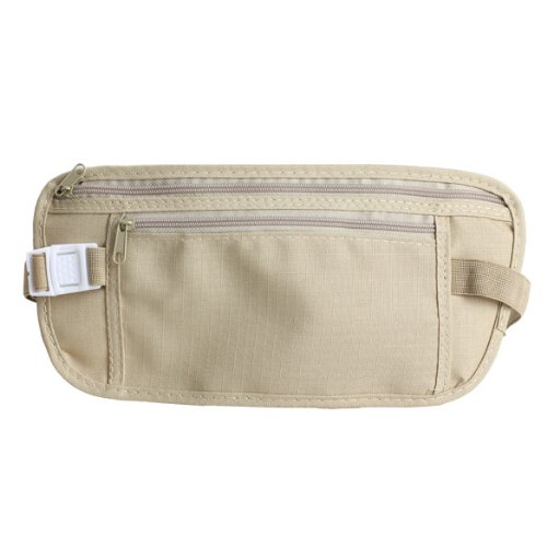 Close Fitted Waist Pack Bag Pocket Pouch for Traveling Outdoor - 1