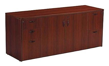 amazon com napa storage credenza office credenzas office products