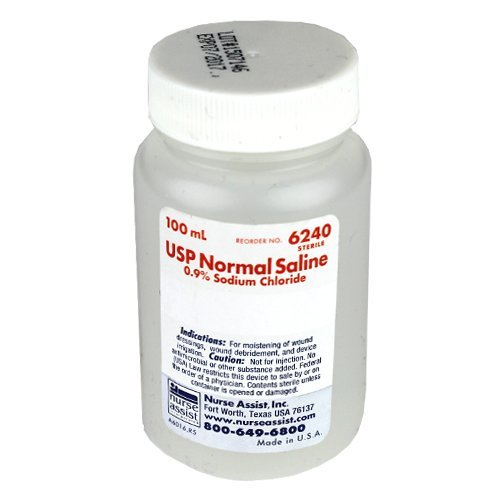 USP Normal Saline 0.9% Sodium Chloride 100ml 6pack