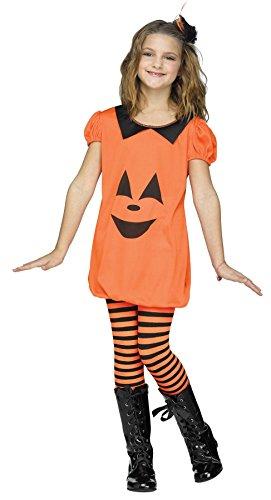 Big Girls' Pumpkin Romper Costume