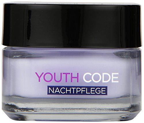 L'Oreal Paris Youth Code Gesichtspflege Nacht, 1er Pack (1 x 50 ml)
