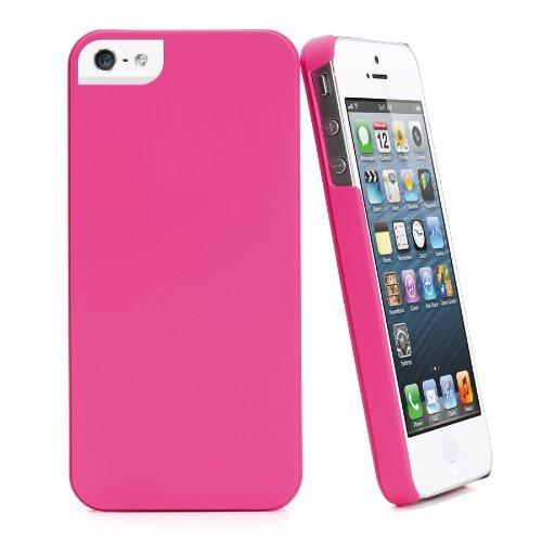 Muvit Schutzhülle/ultra dünn Schutz-Hülle Igum neue Apple Iphone 5/New Iphone MUBKC0540), Rosa