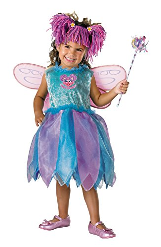 Disguise Girls Abby Cadabby Deluxe Kids Child Fancy Dress Party Halloween Costume, S -