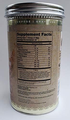Cacao Bliss Organic Superfood Supplement Powder - 30 Day Supply-Raw Cacao, Boosts Metabolism, Support brain health and mental focus, Reduces Cravings: Vegan, Vegetarian, Paleo, Keto friendly, Soy free by Superfoods Blend (Image #2)