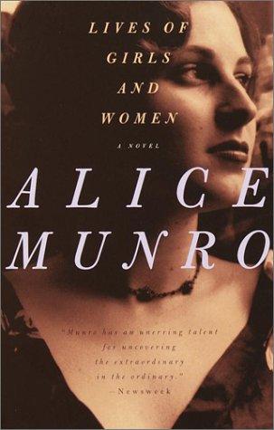 """""""Lives of Girls and Women - A Novel"""" av Alice Munro"""