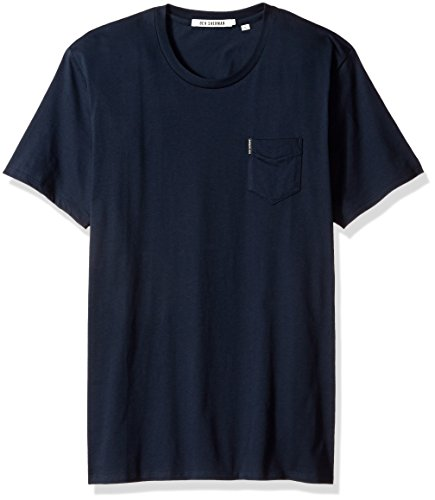 Ben Sherman Men's Short Sleeve Solid Crew Neck T-Shirt, Navy, XX-Large - Ben Short Sleeve T-shirt