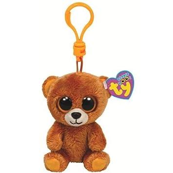 TY Beanie Boo Key Clip Bear Honey  Amazon.co.uk  Toys   Games 0530ac9885e