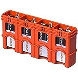 Storacell Powerpax 9V Battery Caddy, Orange