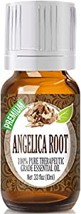 Angelica Root 100% Pure, Best Therapeutic Grade Essential Oil - 10ml